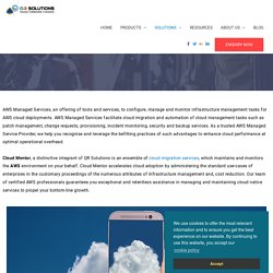 AWS Managed Cloud Service Provider Australia