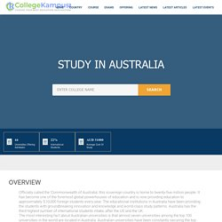 Study in Australia - Choose Your Best Education Destination