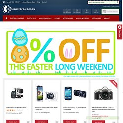 Digital Cameras, All Major Brands, Discounted Now at Camerastore
