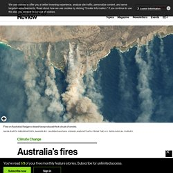 TECHNOLOGY REVIEW 10/01/20 Australia's fires have pumped out more emissions than 100 nations combined