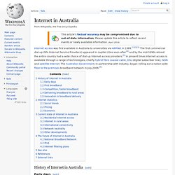 Internet in Australia