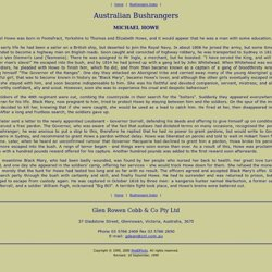 Ned Kelly World - Australia's Famous Bushrangers