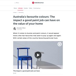 Australia's 3 Favourite Paint Colours