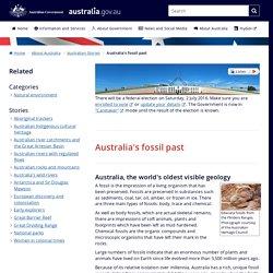 Australia's fossil past