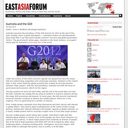 Australia and the G20