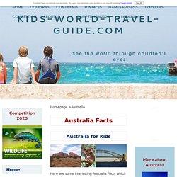 Australia Facts for Kids