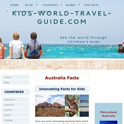 Australia Facts for Kids: Facts about Australia for Kids
