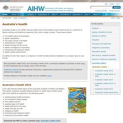 Australia's health