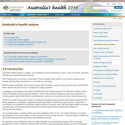Australia's health system