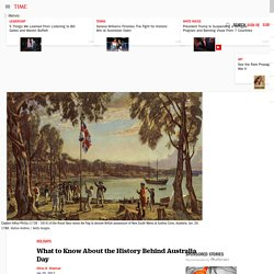 Australia Day 2017: What to Know About the Holiday's History
