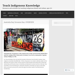 Australia Day/ Invasion Day – Teach Indigenous Knowledge and Culture