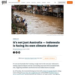 It's not just Australia — Indonesia is facing its own climate disaster