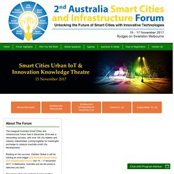 Australia Smart Cities and Infrastructure Forum