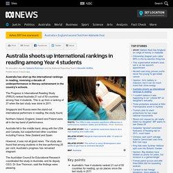Australia shoots up international rankings in reading among Year 4 students
