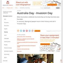 Australia Day - Invasion Day - Creative Spirits