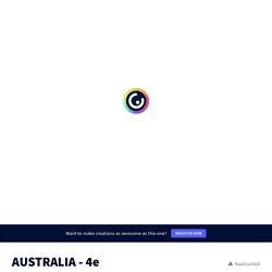 AUSTRALIA - 4e by Isabelle Beaubreuil on Genially