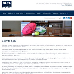 Legal Aid & Advice for Sportsmen