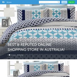 BEST & REPUTED ONLINE SHOPPING STORE IN AUSTRALIA! (with images) · lyallwaystore