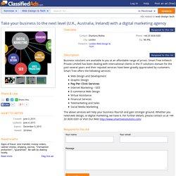 Take your business to the next level (U.K., Australia, Ireland) with a digital marketing agency