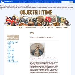 Captain Cook - Australia's migration history timeline