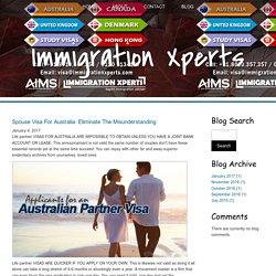 Spouse Visa For Australia: Eliminate The Misunderstanding
