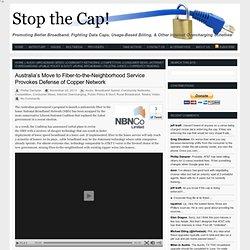 Australia's Move to Fiber-to-the-Neighborhood Service Provokes Defense of Copper Network