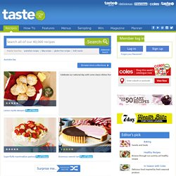 Australia Day Recipes collection - www.taste.com.au