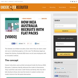 How IKEA Australia Recruits with Flat Packs [Video]