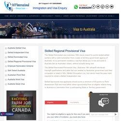 Australia Skilled Regional Provisional Visa, Skilled Visa Agents