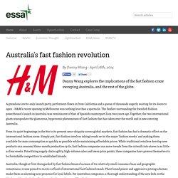 Economics Student Society of Australia (ESSA)