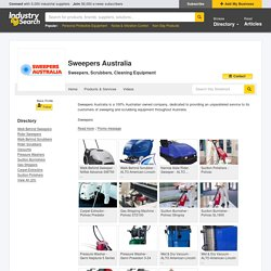 Sweepers Australia: Sweepers, Scrubbers, Cleaning Equipment