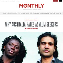 Why Australia hates asylum seekers -