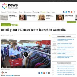 TK Maxx in Australia: Kmart, Target and Big W under threat from new department store