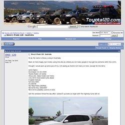 Steve's Prado 120 - Australia - Toyota 120 Platforms Forum