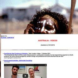 Australia : Videos