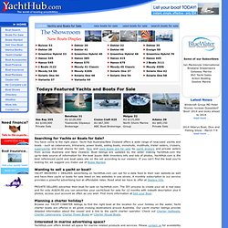 Boats for Sale - Yachts for Sale - Used & New Boats @ Yacht Hub