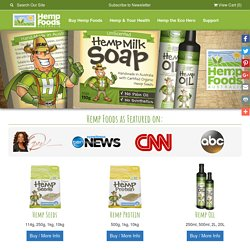 Hemp Foods Australia | HempSeeds, Buy Hemp Seeds, Hemp Oil