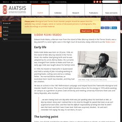 Australian Institute of Aboriginal and Torres Strait Islander Studies