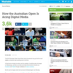 How the Australian Open Is Acing Digital Media
