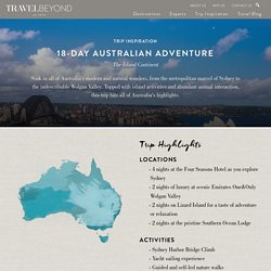 18-Day Australian Adventure - Travel Beyond