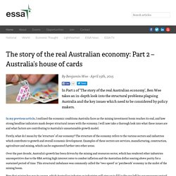 The story of the real Australian economy: Part 2 – Australia's house of cards