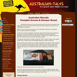 Australian Biscuits, Scones & Damper