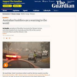 Australian bushfires are a warning to the world