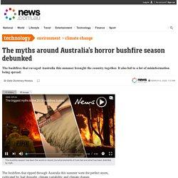 Australian bushfires: Biggest myths debunked
