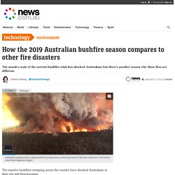 Australian bushfires: Why 2019 fire season is different from others