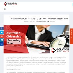 How Long Does It Take to Get Australian Citizenship?