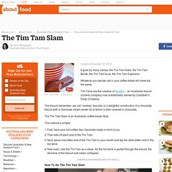 Tim Tam Slam - an Australian Coffee Break Ritual
