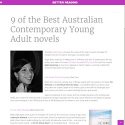 9 of the Best Australian Contemporary Young Adult novels – Better Reading