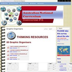 Australian National Curriculum Resources F-6 - Graphic Organisers