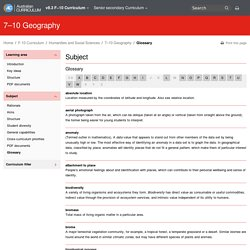 7–10 Geography - The Australian Curriculum v8.3